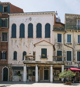"Schola Italiana - Ghetto Nuovo - Facciata"" by Didier Descouens - Own work. Licensed under CC BY-SA 4.0 via Commons"
